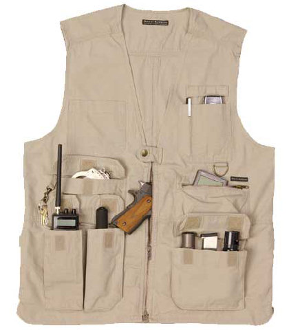 Gilet multipoches 5.11 Tactical beige