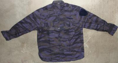 Chemise camouflage Police / milice Serbe